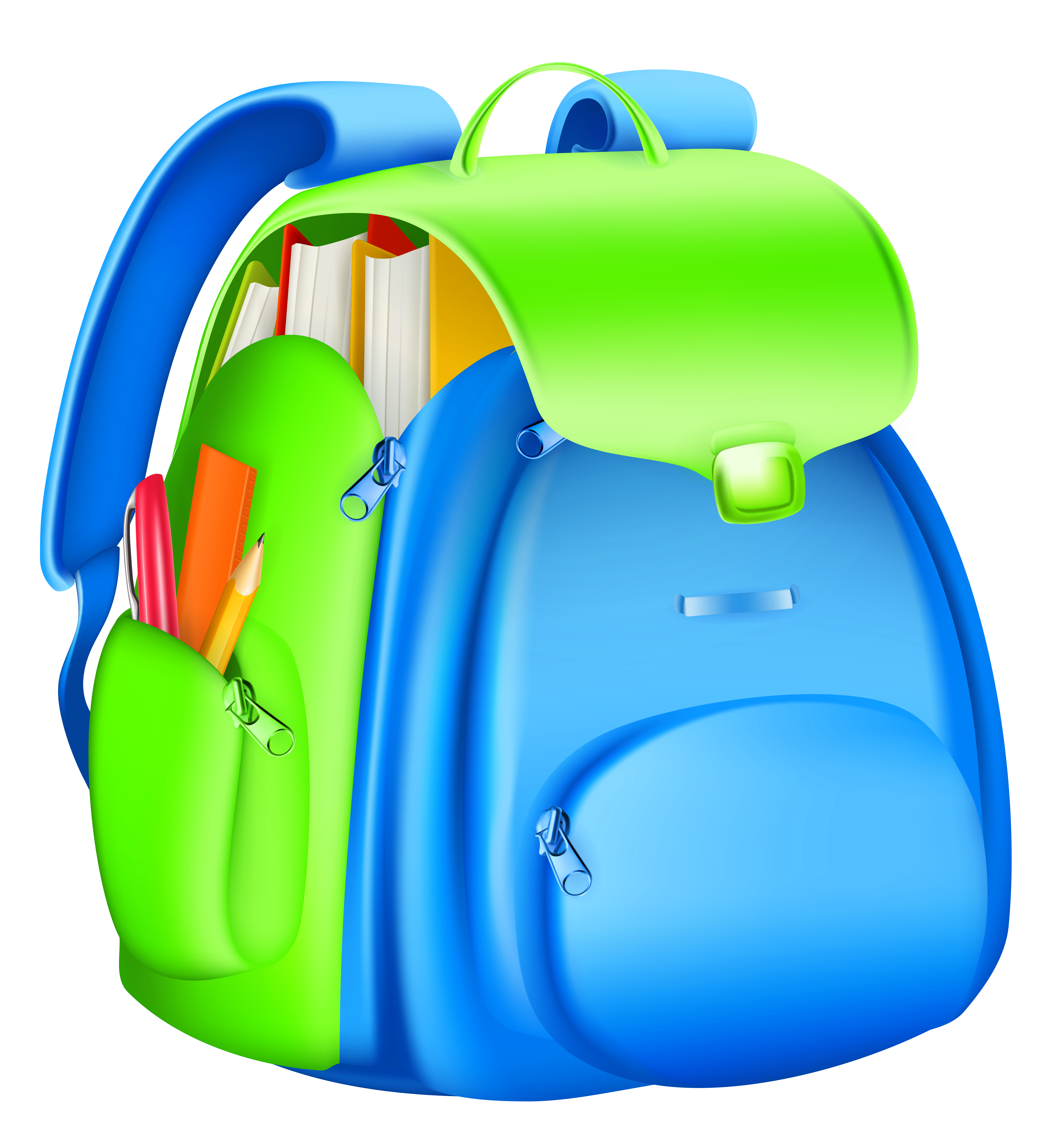School backpack clipart 0