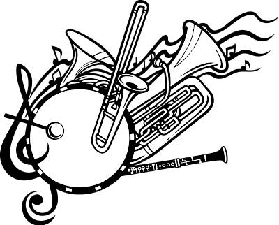 School Band Instruments Clip Art Band Cl-School Band Instruments Clip Art Band Clip Art-19