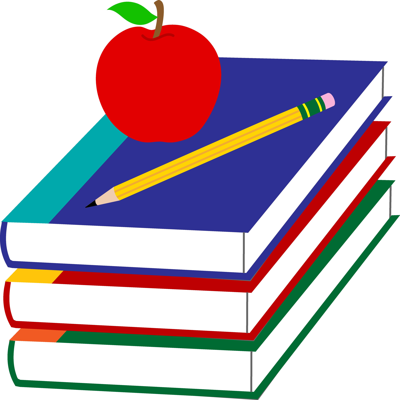 School Book Clipart | Clipart - School Books Clipart