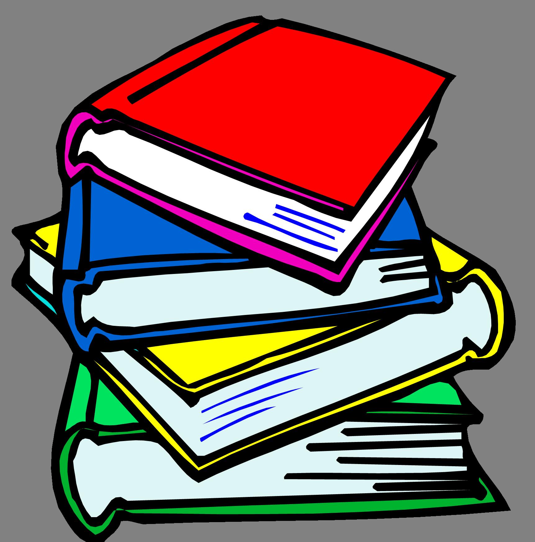 School Book Pictures - School Books Clipart