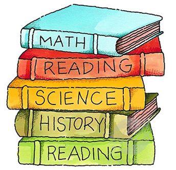 School Books Clip Art | Emmaus