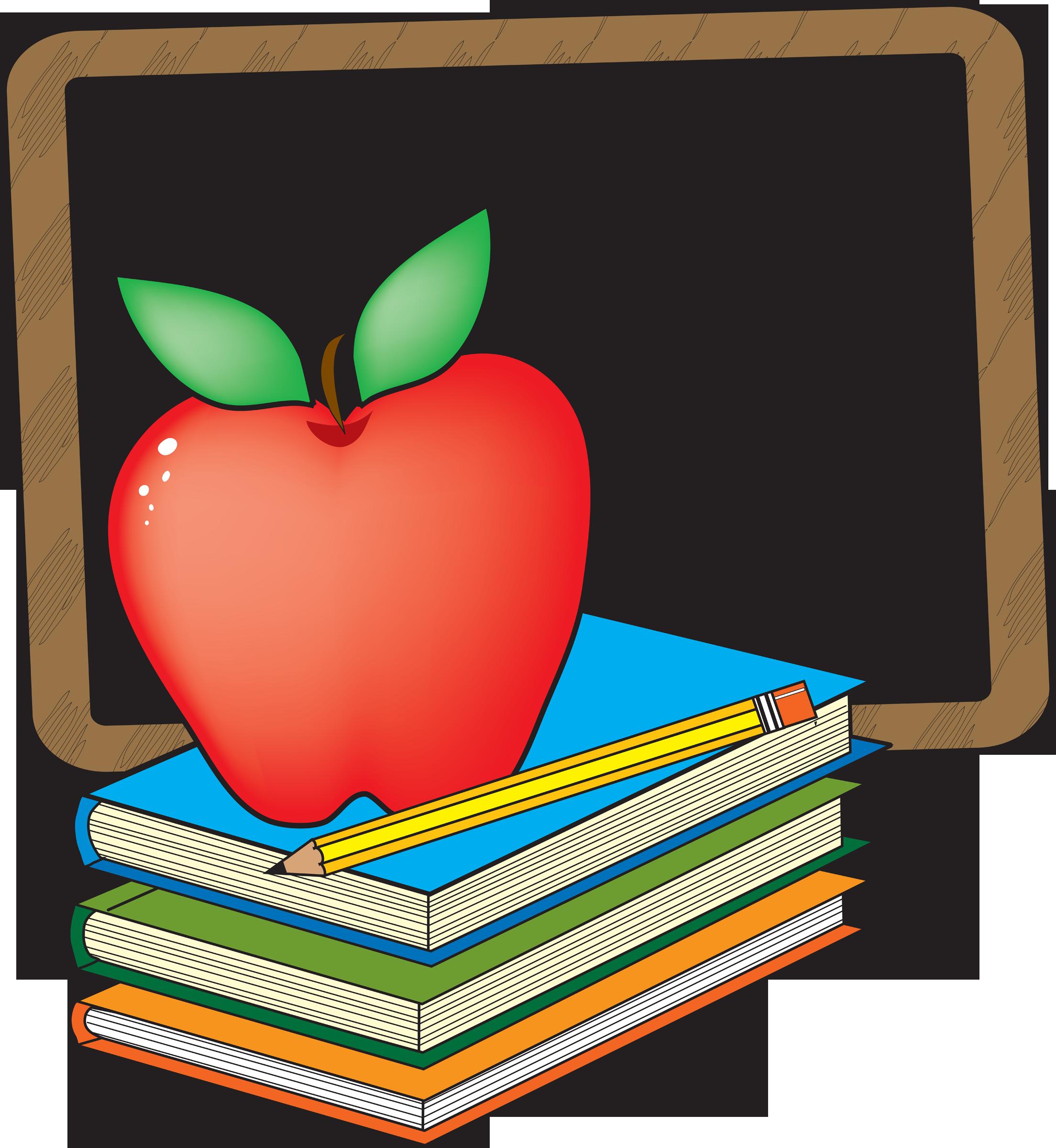 School Books Clipart - School Books Clipart