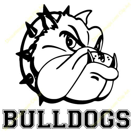 School Bulldog Clipart Free .-School Bulldog Clipart Free .-11