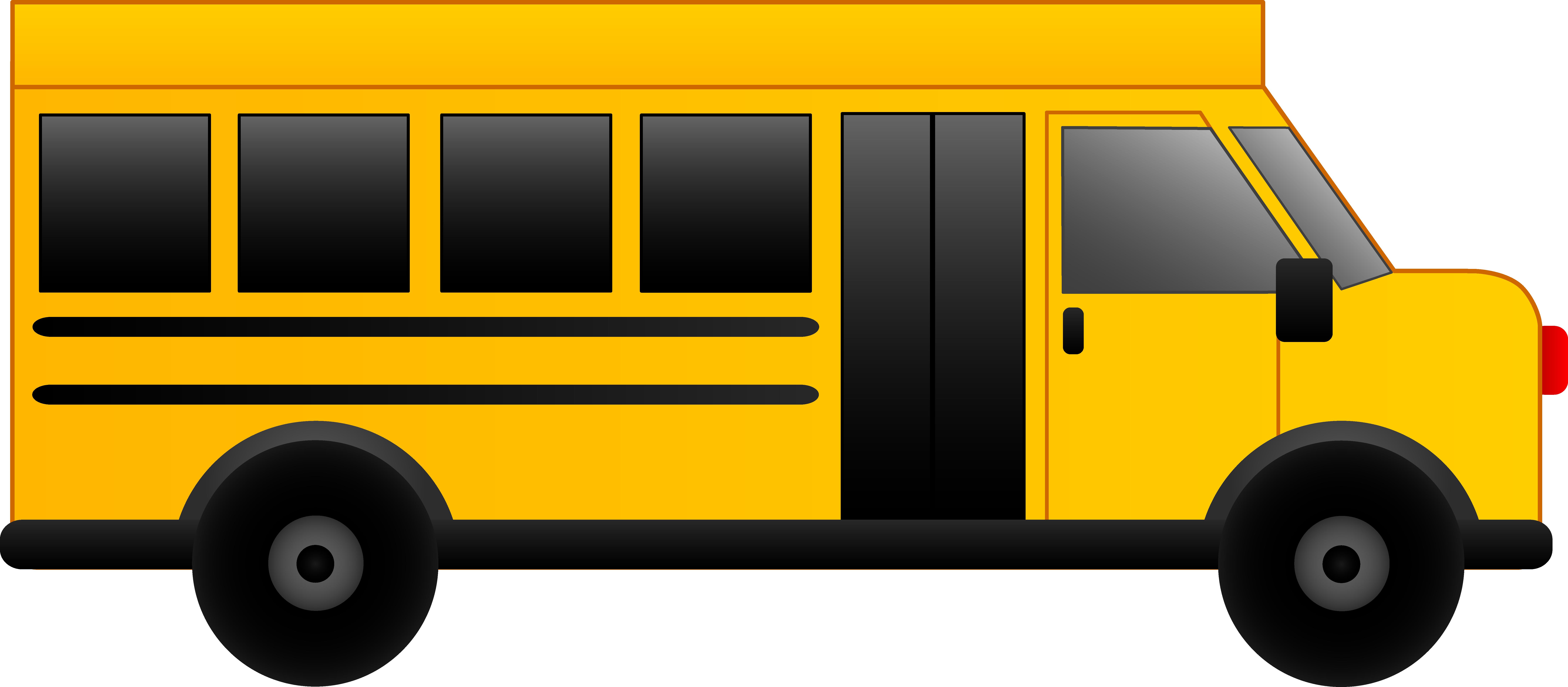 School bus clip art free clipart images