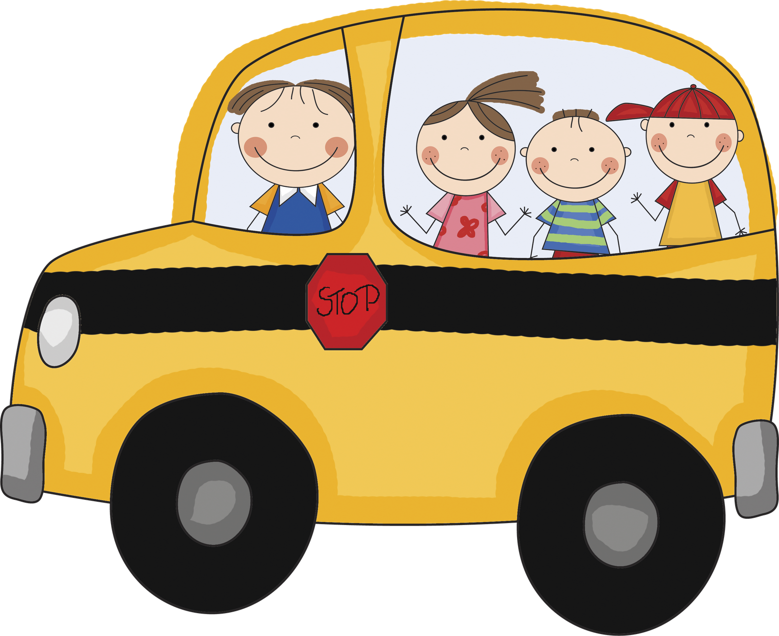 School bus clipart images 3 school bus clip art vector 4 4