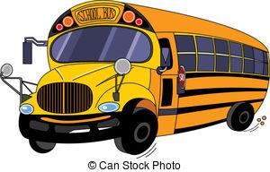 ... School Bus - Illustration of a School Bus School Bus Clip Artby ...