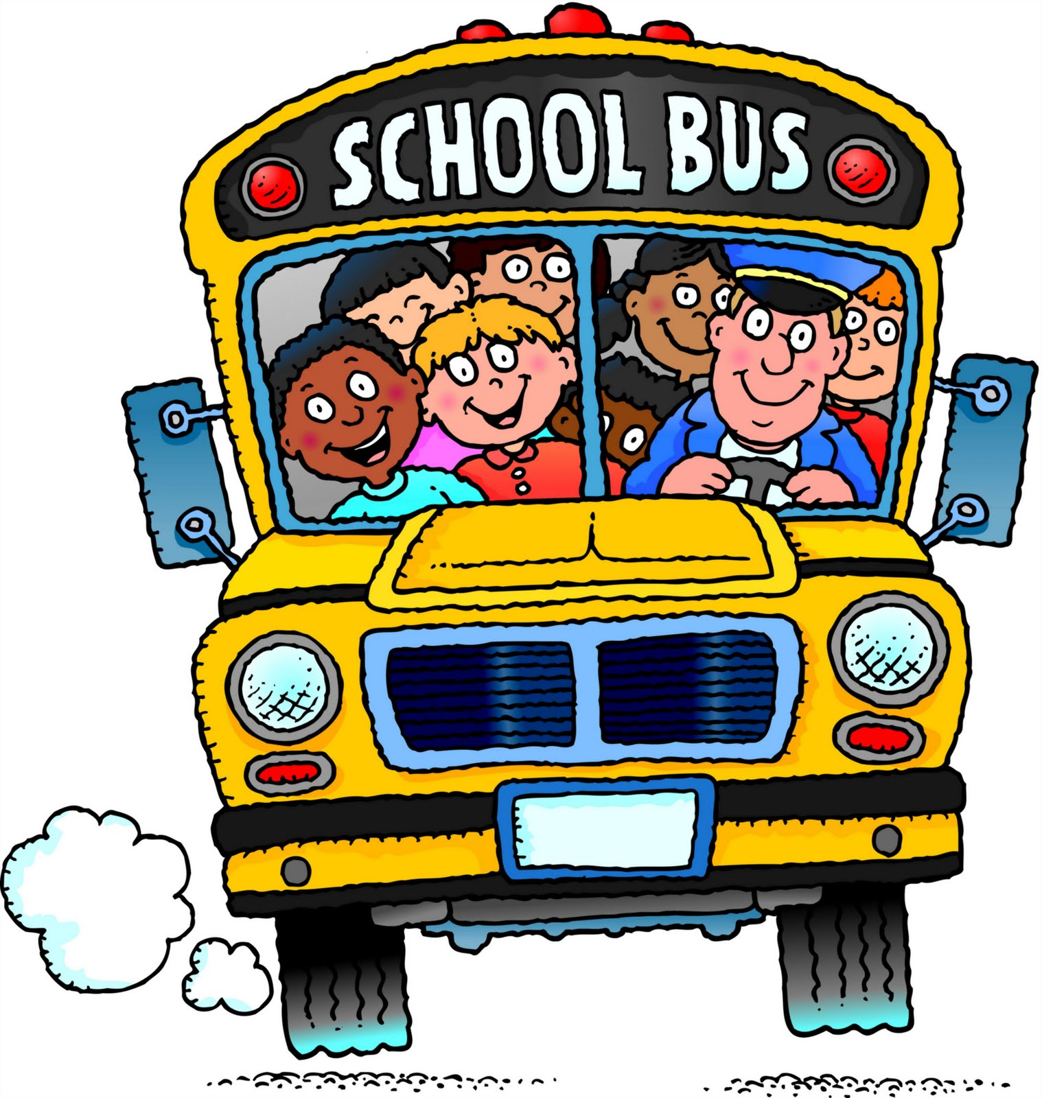 School bus image clipart-School bus image clipart-16