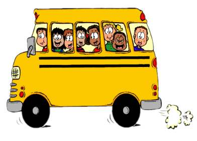 School bus safety clipart