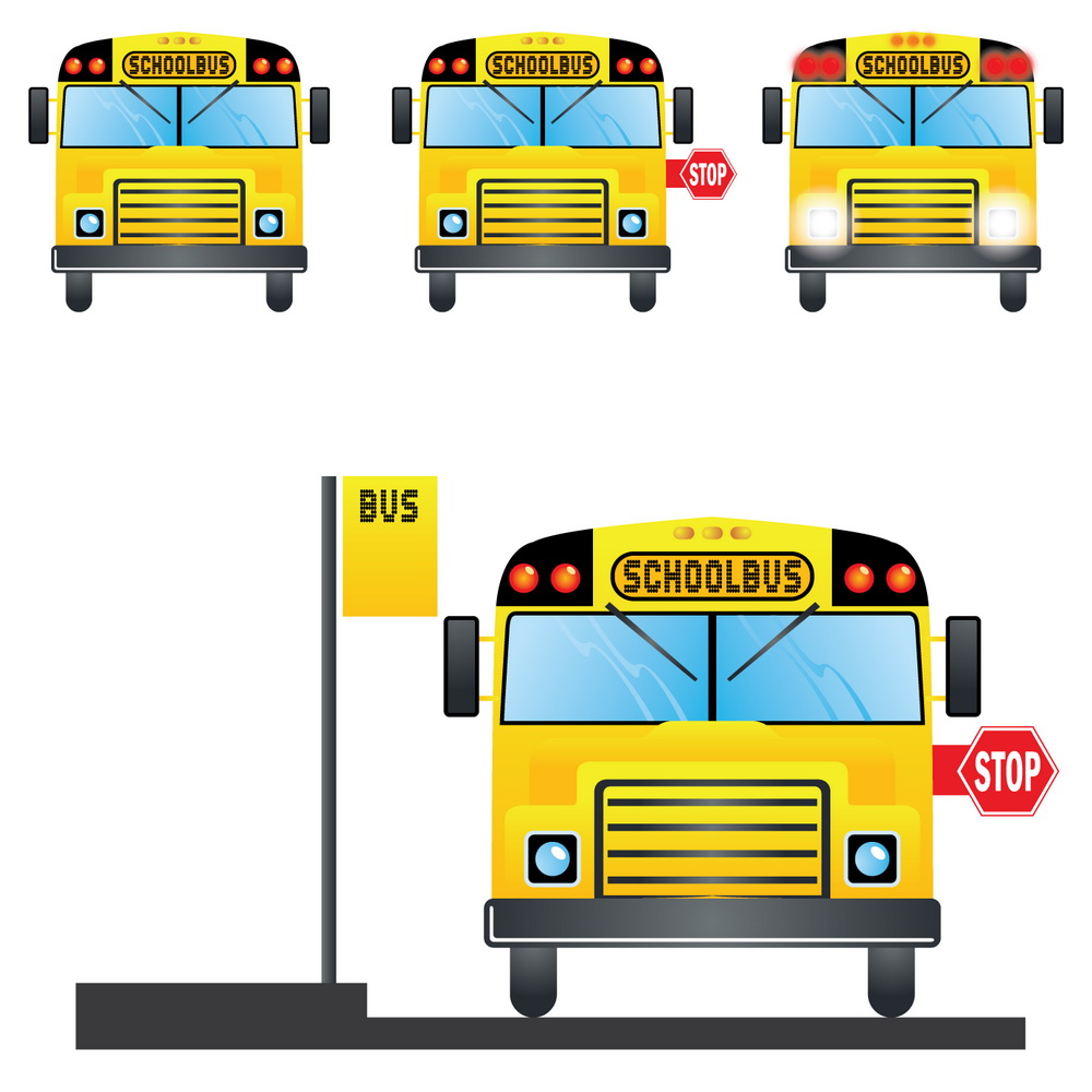 School Bus Stop Sign Clip Art Clipart Panda Free Clipart Images