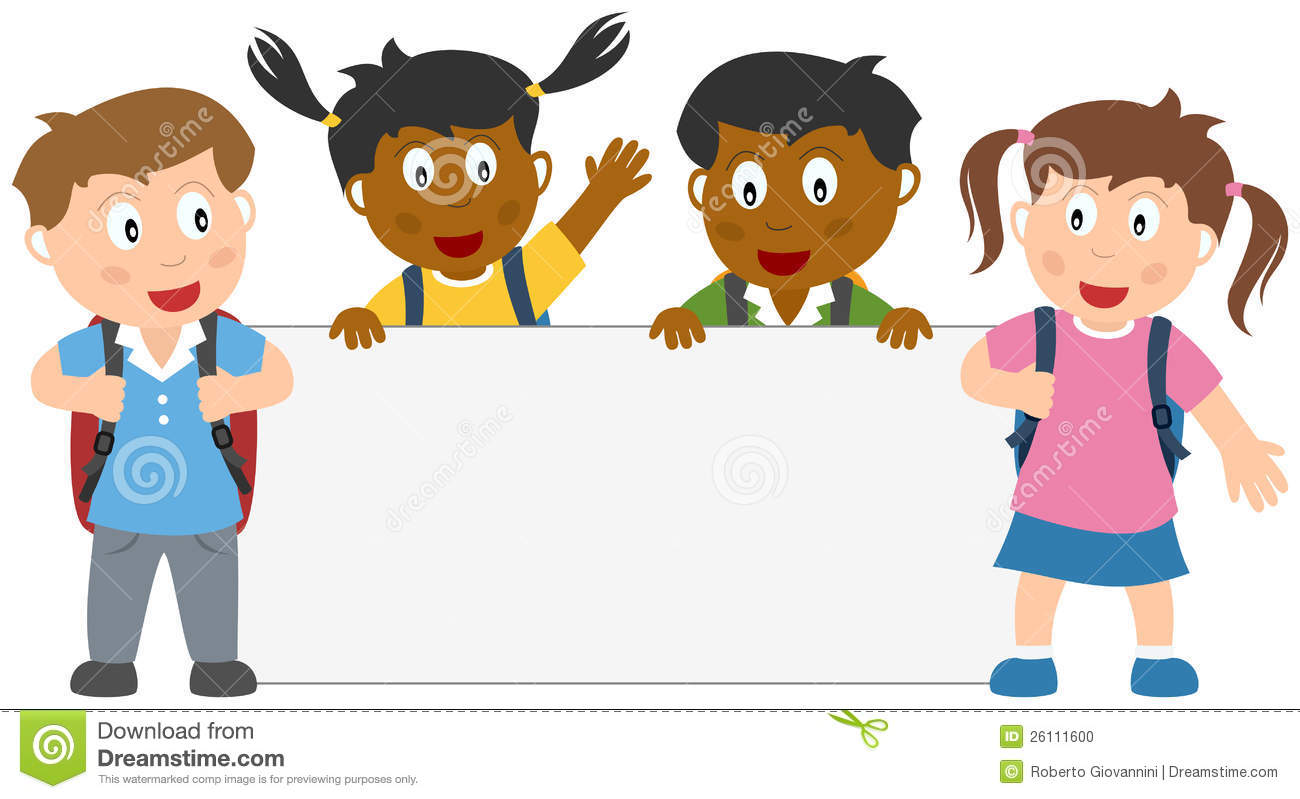 school children clipart - School Children Clipart