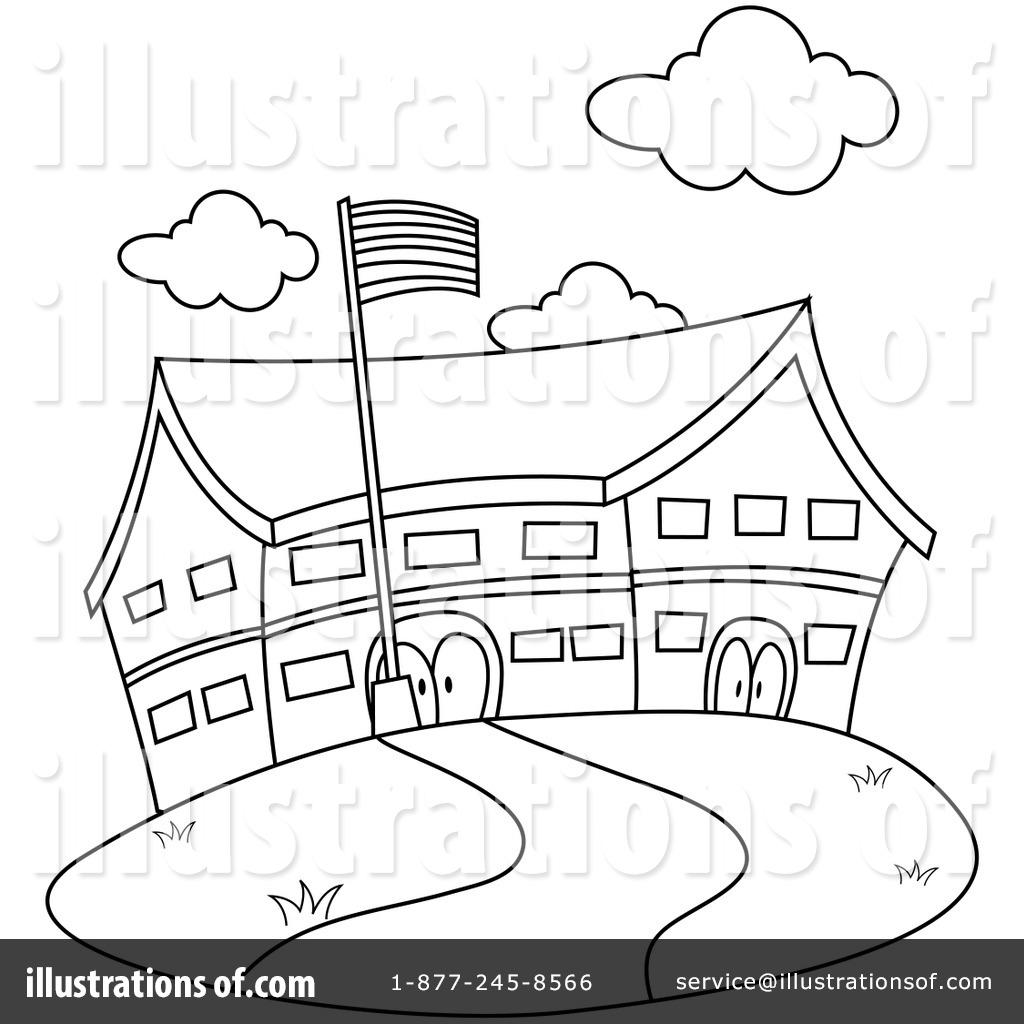 School Clip Art Black And White-school clip art black and white-14