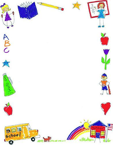 School Clip Art Borders | Printable Scho-School Clip Art Borders | printable school borders image search results-14
