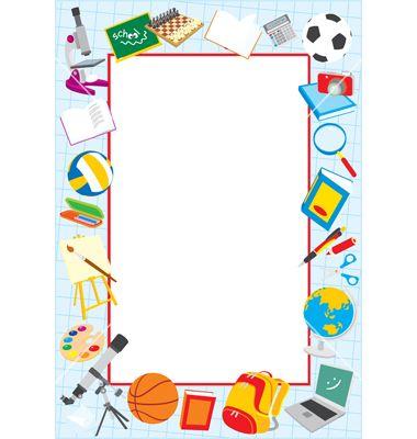 School Clip Art Borders | School Border -School Clip Art Borders | School border vector art - Download School vectors-13