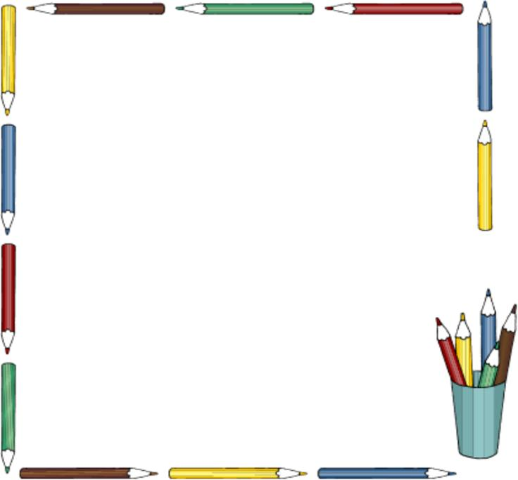 School Clipart Borders .-school clipart borders .-17