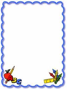 School Clipart Borders-school clipart borders-15