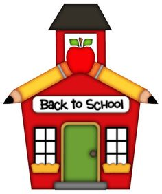 Here you can see the Clip Art School House collection. You can use these Clip  Art School House for your documents, web sites, art projects or  presentations.