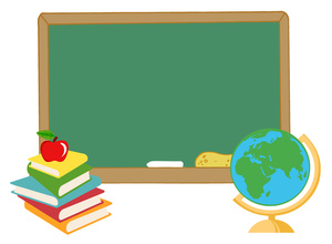 School Clipart Image: Text . - School Books Clipart
