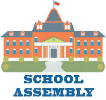 school assembly school building clipart. Size: 137 Kb
