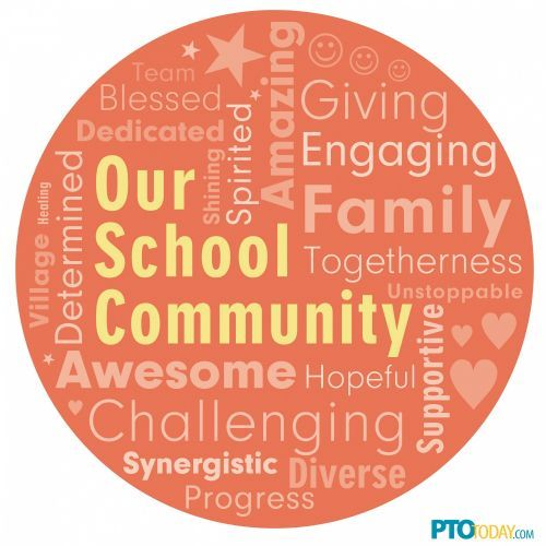 School Community Word Cloud - from the PTO Today Clip Art Gallery. | Group Management | Pinterest | School community, The ou0026#39;jays and Words