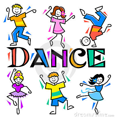 School Dance Clipart Dance A  - Kids Dancing Clipart