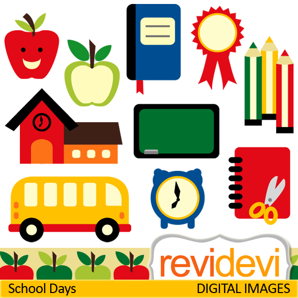 ... School Days Clipart | Free Download Clip Art | Free Clip Art | on .