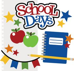 School Days SVG files for . - School Picture Day Clip Art