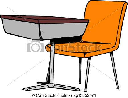 School desk Stock Illustrationsby ...