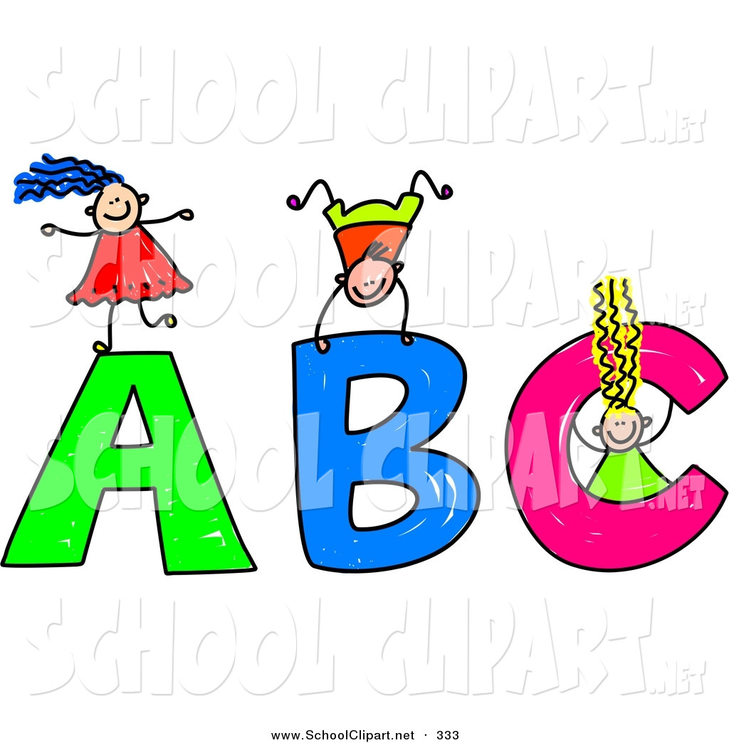 School Letters Clipart #1