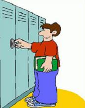 School Lockers - Locker Clipart
