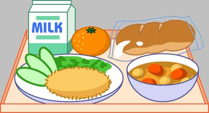 School lunch, Clip art and .-School lunch, Clip art and .-10