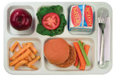 School Lunch Tray Clipart ... The .-School Lunch Tray Clipart ... The .-17
