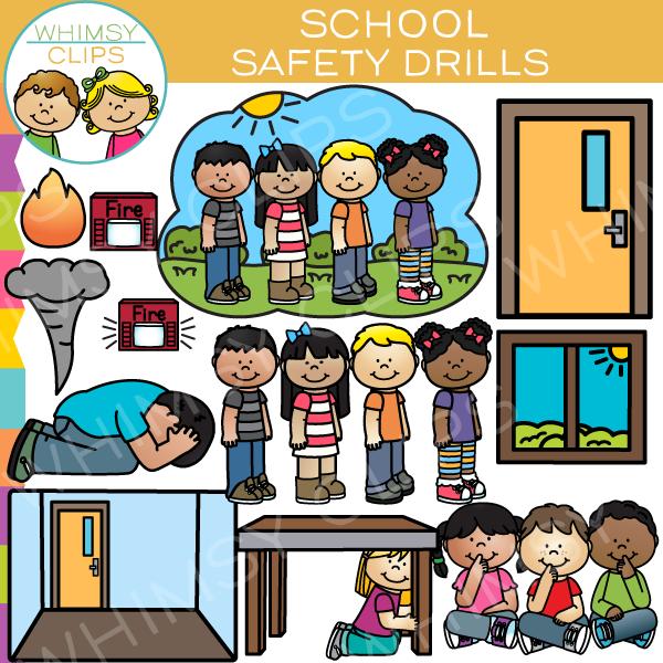 School Safety Drill Clip Art-School Safety Drill Clip Art-18