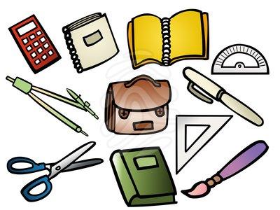 School Supplies Clip Art Clipart Free Cl-School Supplies Clip Art Clipart Free Clipart-13