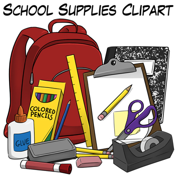 School Supplies Clip Art-School Supplies Clip Art-3