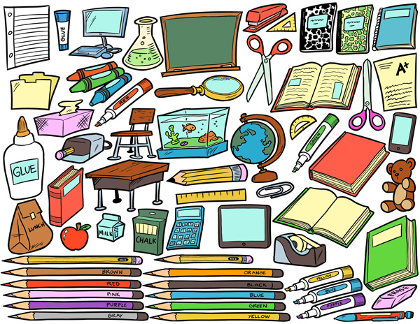School Supplies Clip Art Pack Tim-School supplies clip art pack tim-12