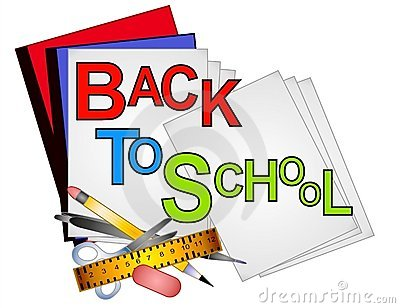 School Supplies Clip Art Stock .-School Supplies Clip Art Stock .-15