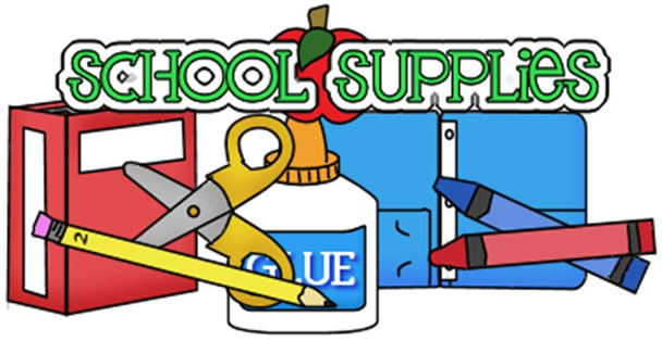 school supplies clipart .