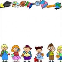 School Theme Border Clipart School Borde-School Theme Border Clipart School Borders For Word Documents Free-19