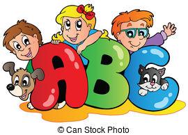 ... School theme with ABC leters - Schoo-... School theme with ABC leters - School theme with ABC letters.-6