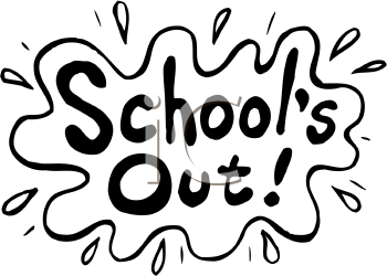 Schools Out Clip Art