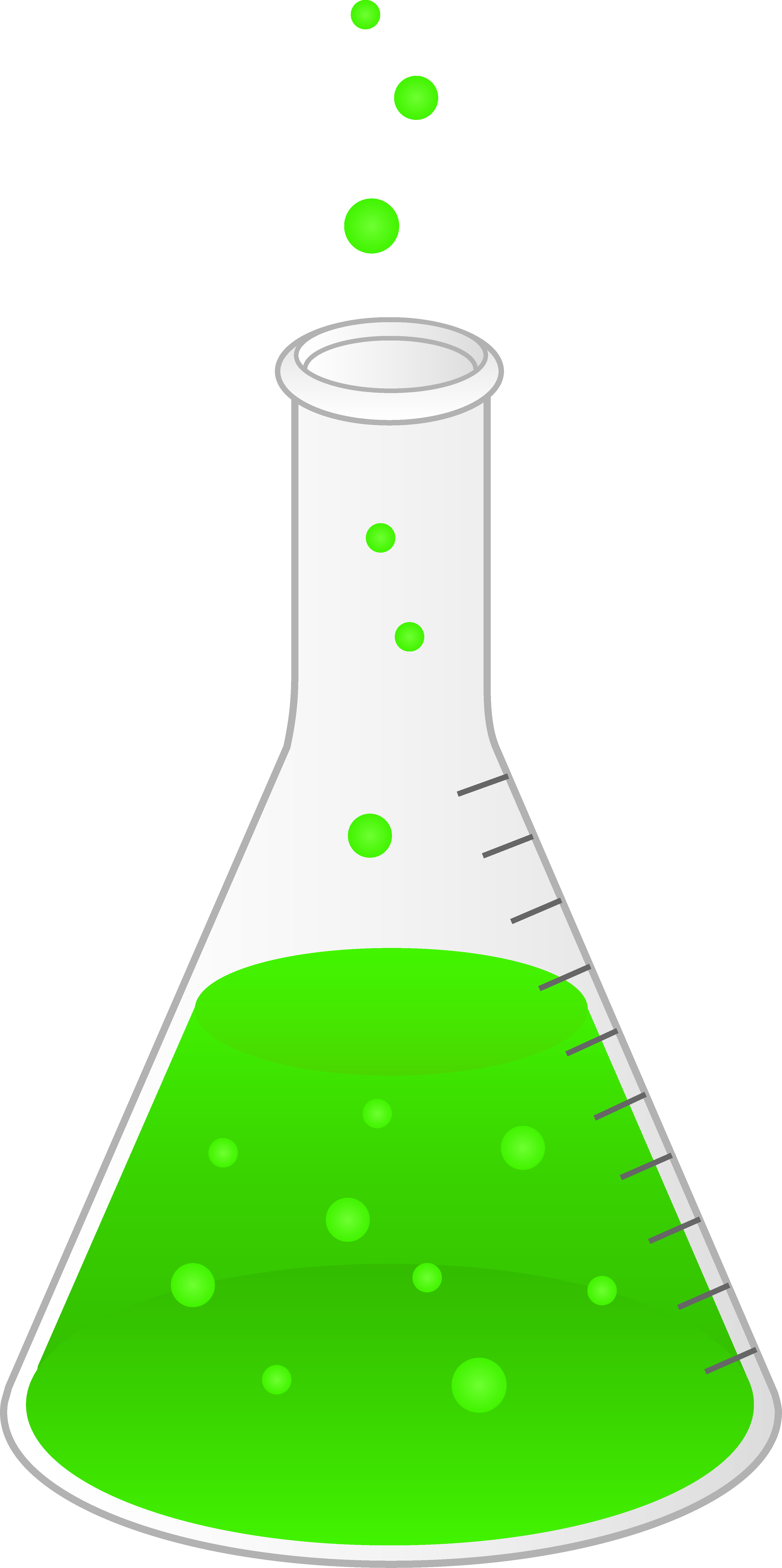 Science Beaker Clip Art