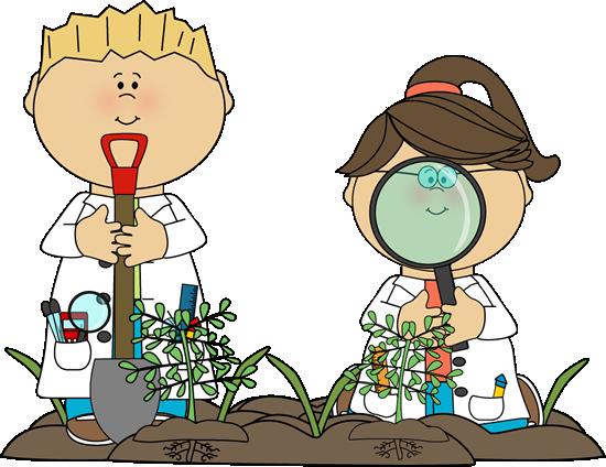 Science Kids Examining Plants-Science Kids Examining Plants-9