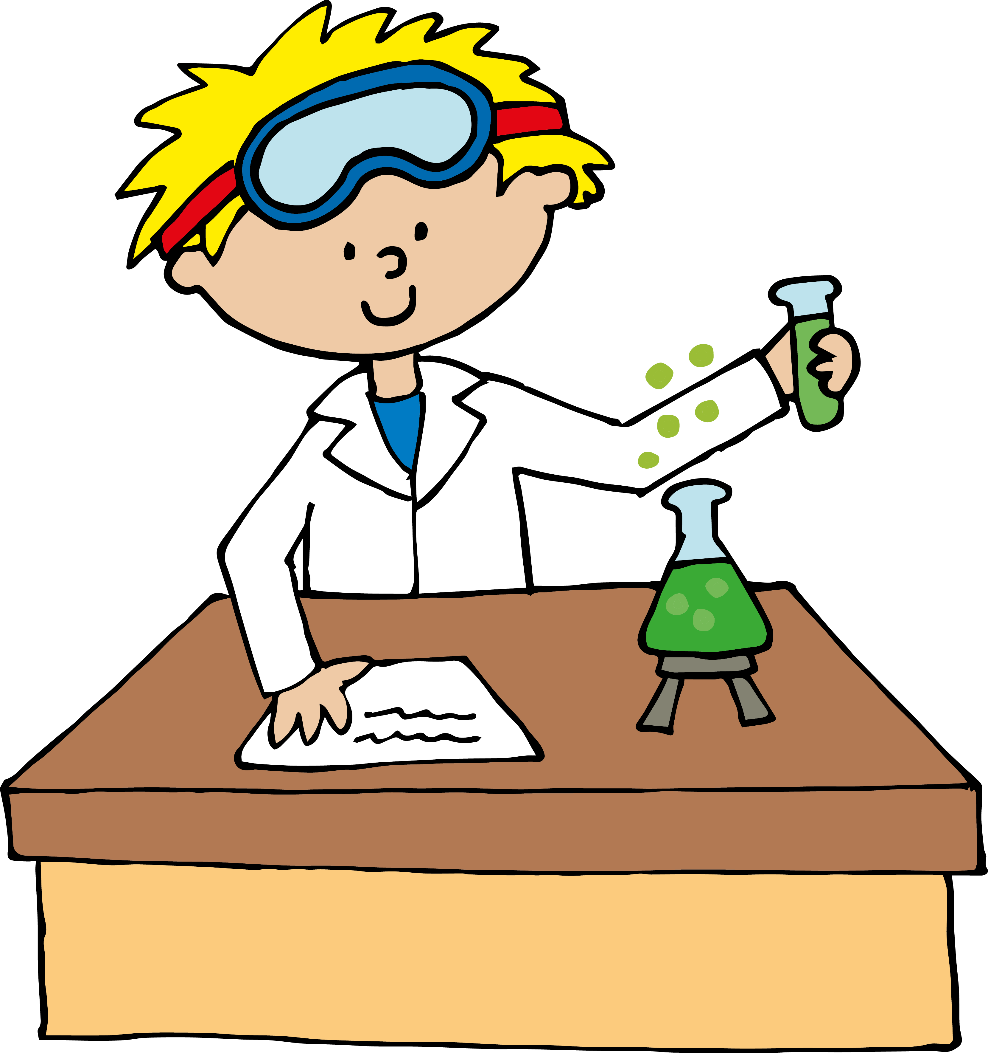 Scientist Clipart Clipart Best