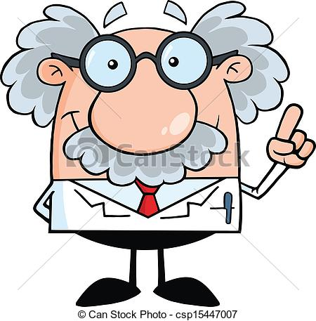 Scientist Or Professor With An Idea - Sm-Scientist Or Professor With An Idea - Smiling Scientist Or..-5