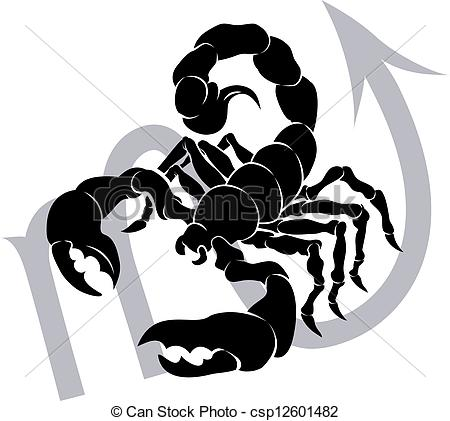 Scorpio zodiac horoscope astrology sign - csp12601482