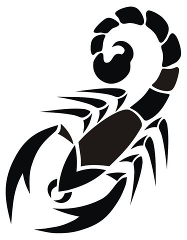 Scorpion Tattoo Designs Clipart - Free Clipart