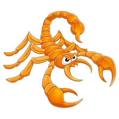 scorpion clipart