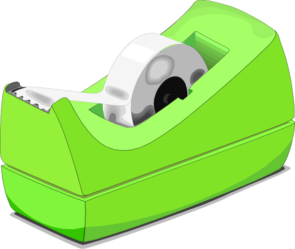 Scotch Tape Roll Clip Art At Clker Com Vector Clip Art Online