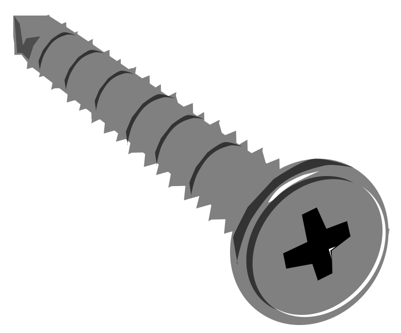 Screw Clipart-Clipartlook.com-800