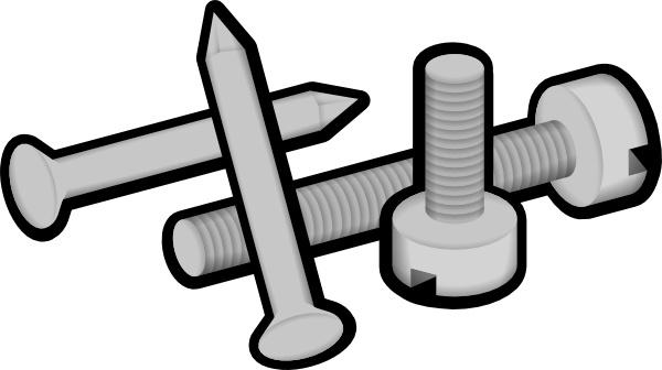 Screws And Nails Clip Art-Screws And Nails clip art-15